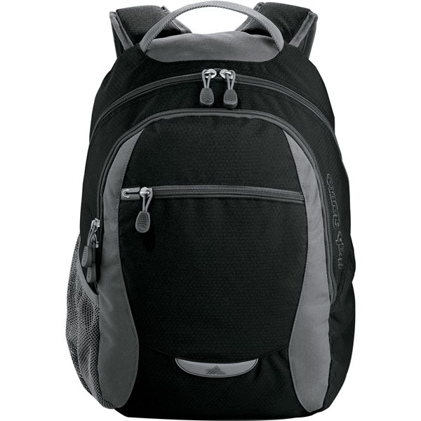 Promotional Nylon High Sierra Curve Backpack 12.5 X 18.5
