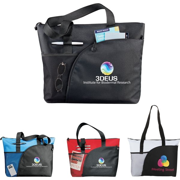 Promotional The Excel Sport Utility Business Tote Bag - 18 x 14
