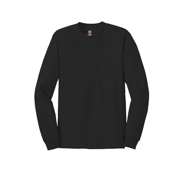 Promotional Hanes(R) - Tagless(R) 100 Cotton Long Sleeve T - Shirt - 5586 - Colors