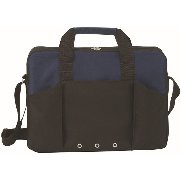 Promotional Polyester Economic Force Brief Case Bag 16 X 12