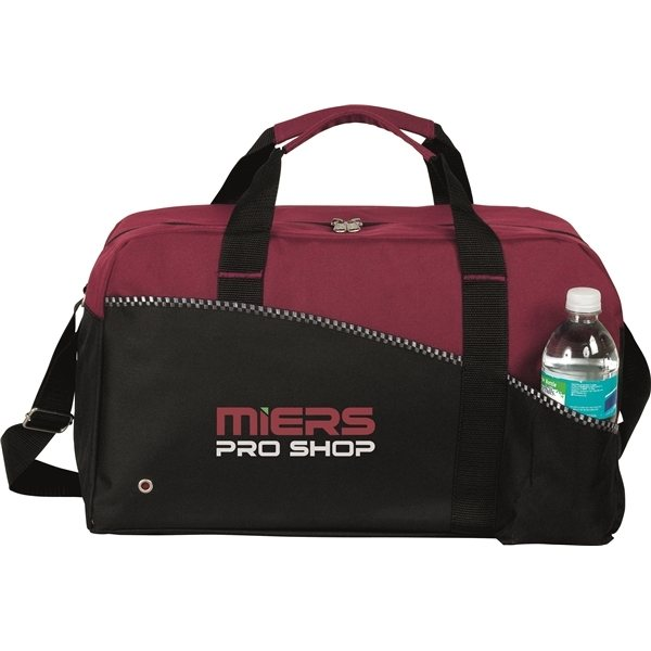 Promotional Polyester Center Court Sports Duffel Bag 18