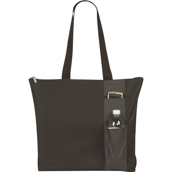 Promotional Intelli Double Pocket Poly Tote Bag
