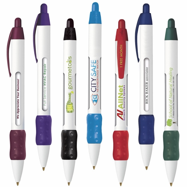 Promotional Bic Widebody Message Clic Ballpoint Pen