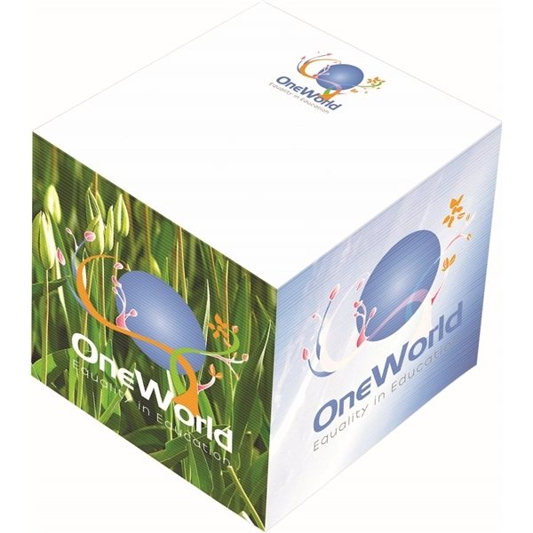 Promotional BIC(R) 3 x 3 x 3 Non - Adhesive Cube