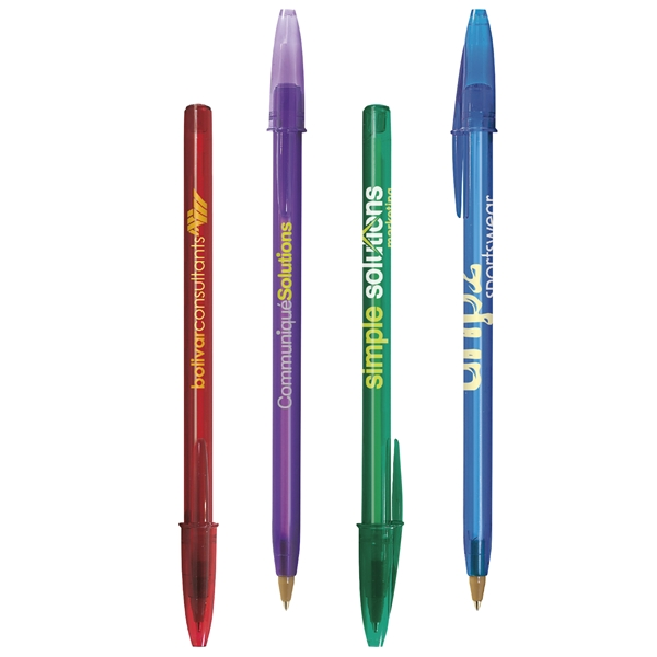 Promotional BIC (R) Style(TM) Clear Pen