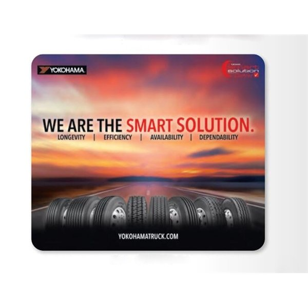 Promotional 3/32 ReTreads Base + Vynex Surface Mouse Pad, 3/32 x 8 x 9 1/2