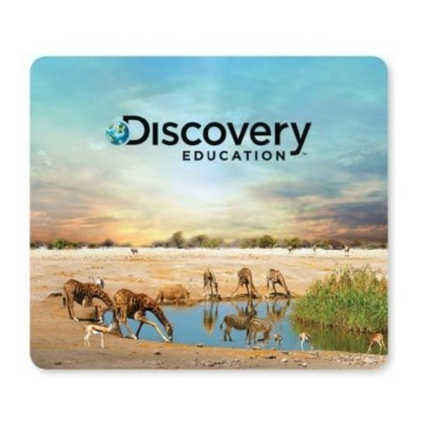 Promotional 1/16 Heavy Duty Base + OriginL Fabric Surface Mouse Pad, 1/16 x 7 x 8