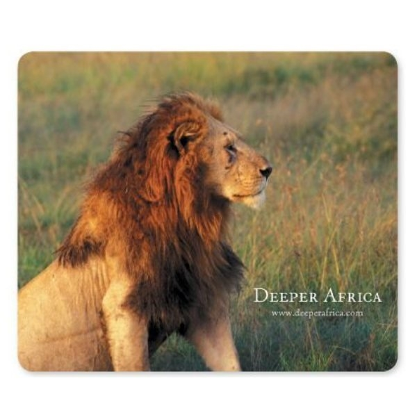 Promotional 1/16 Heavy Duty Base + OriginL Fabric Surface Mouse Pad, 1/16 x 7 1/2 x 8 1/2