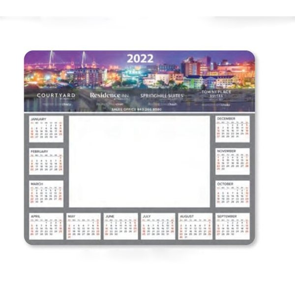 Promotional 1/8 Heavy Duty Base + Vynex Surface Frame - It(R) Window Mouse Pads, 1/8 x 8 x 9 1/2