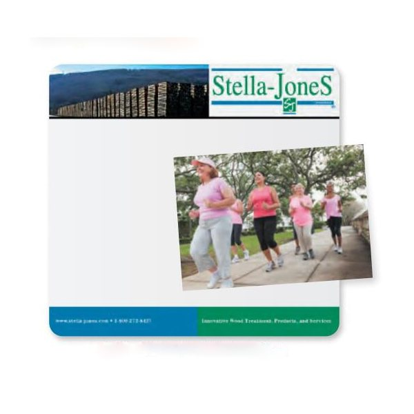 Promotional 1/16 Heavy Duty Base + Vynex Surface Frame - It(R) Window Mouse Pads, 1/16 x 7 1/2 x 8