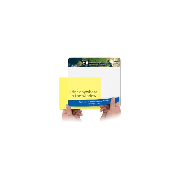 Promotional 1/16 Heavy Duty Base + Vynex Surface Frame - It(R) Window Mouse Pads, 1/16 x 8 x 9 1/2
