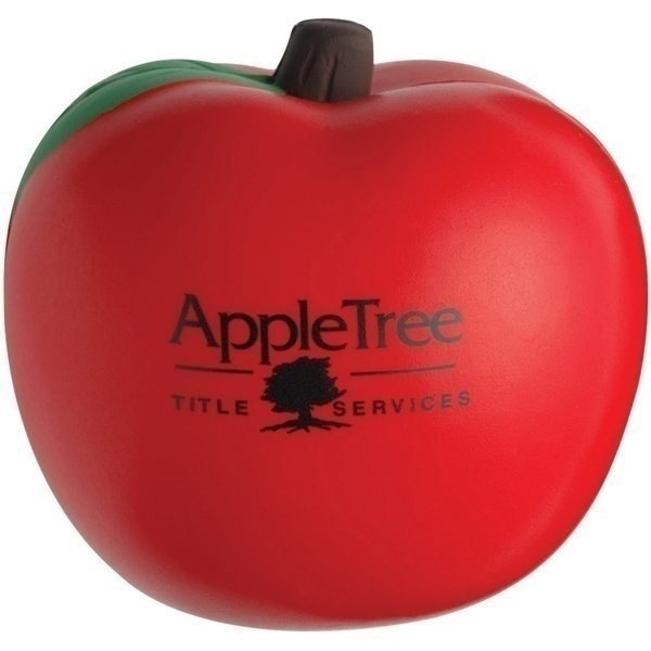 Promotional Apple Shaped Stress Reliever