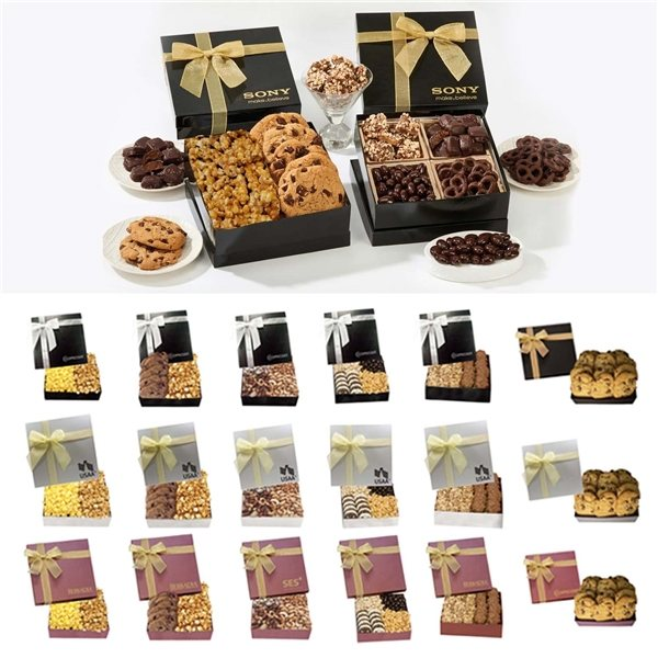 Promotional The Chairman Gift Box - Caramel Butter Popcorn