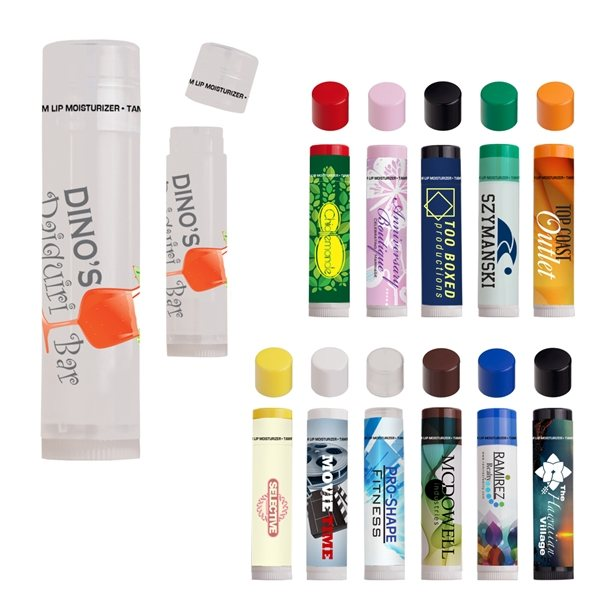 Promotional Pick - A - Flavor, All - Natural Lip Moisturizer With Self - Designed Label