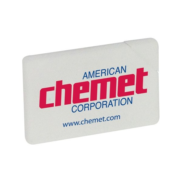 Promotional Plastic Credit Card Container Breath Mints