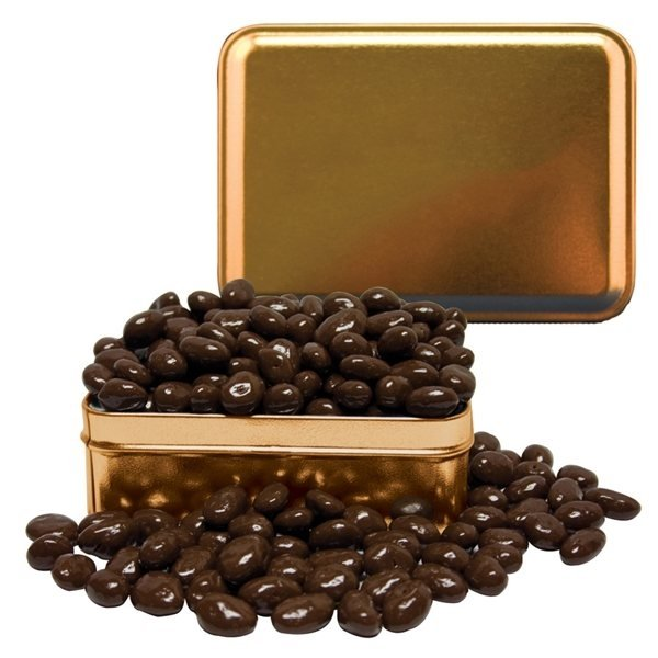 Promotional Small Rectangle Tin Chocolate Almonds
