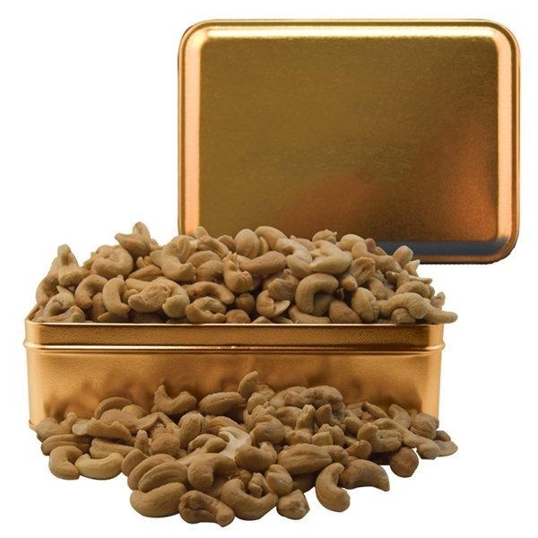 Promotional Small Rectangle Tin Cashews