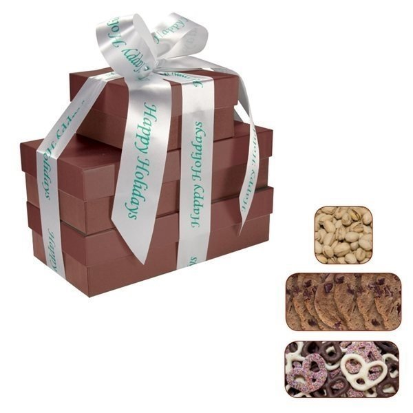 Promotional The Four Seasons - Chocolate Covered Pretzels, Cookies Pistachios