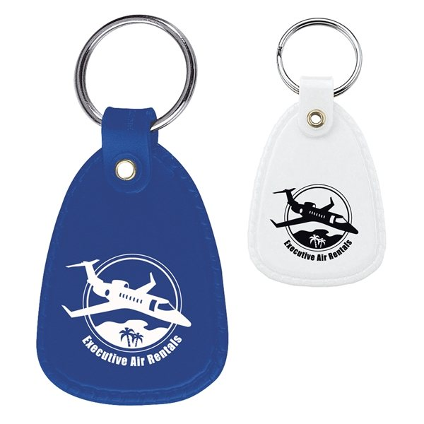 Promotional Continental PE Plastic Key Fob