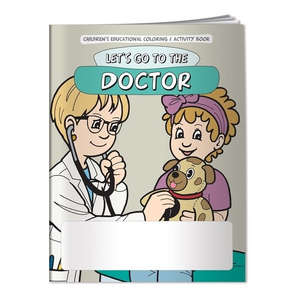 Promotional Coloring Book Lets Go to the Doctor