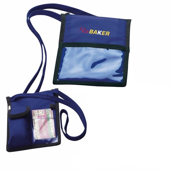 Promotional Neck Wallet with Lanyard
