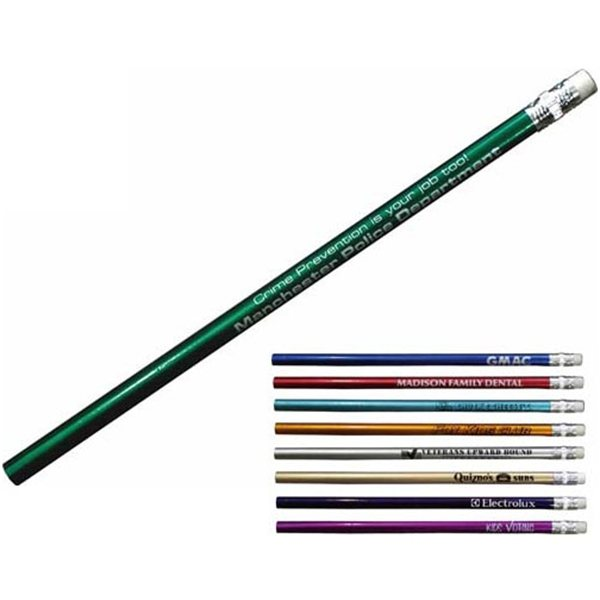 Promotional Smooth Metallic Glisten Pencil