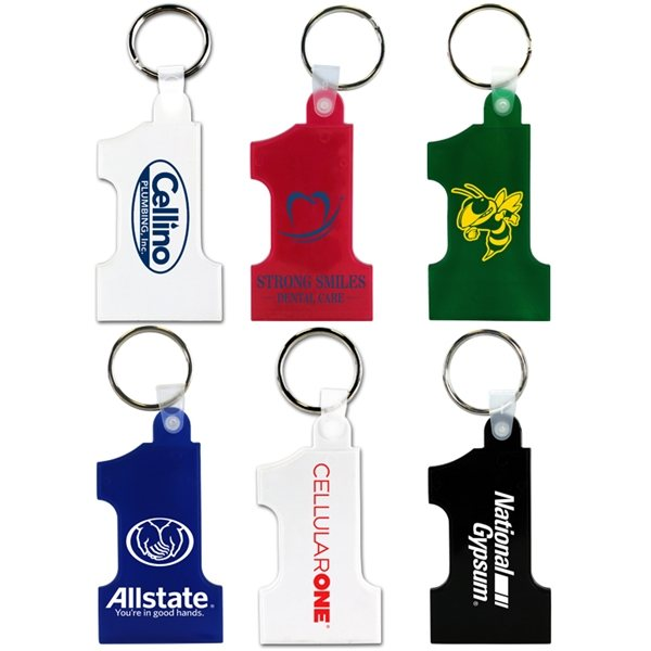 Promotional Number One Key Fob