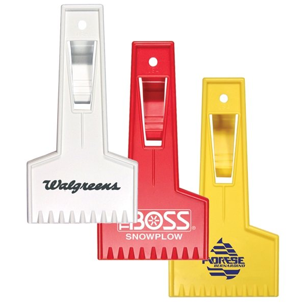 Promotional Small Ice Scraper with Visor Clip