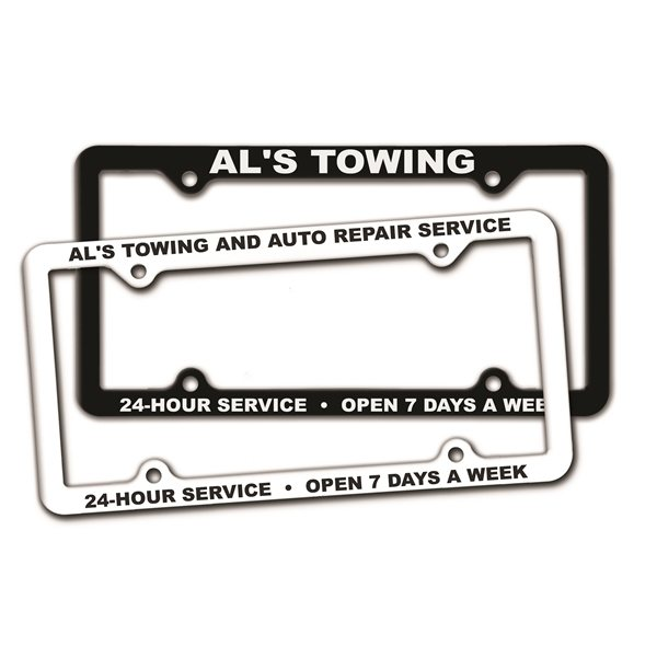 Promotional Thin Panel License Plate Frames