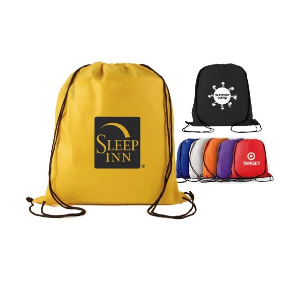 Promotional Non Woven Drawstring Backpack