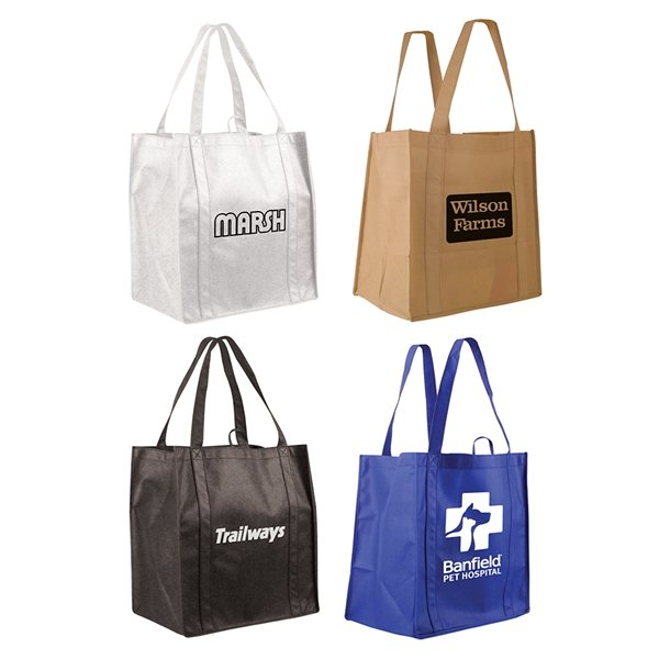 Promotional Non Woven Tundra Tote Bag