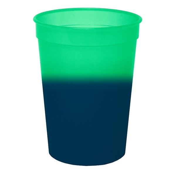 Promotional Color Changing Mood Stadium Cup - 12 oz