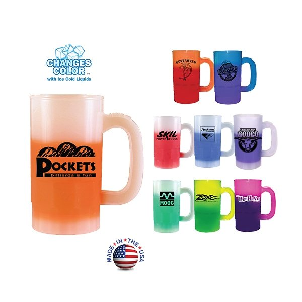 Promotional 14 oz Mood Beer Stein