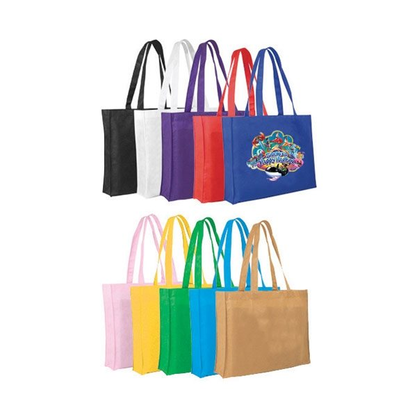Promotional Non Woven Tote Bag, Full Color Digital