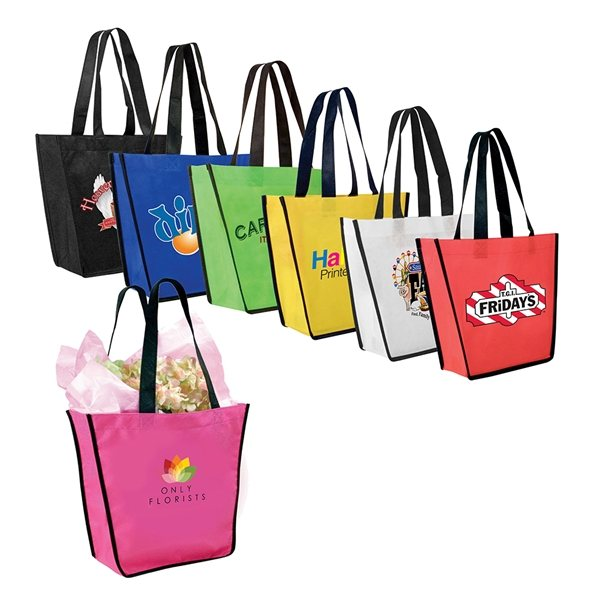 Promotional Non - Woven FiestaTote Bag, Full Color Digital