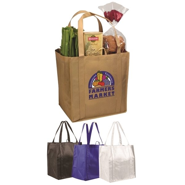 Promotional Non - Woven Tundra Tote Bag, Full Color Digital