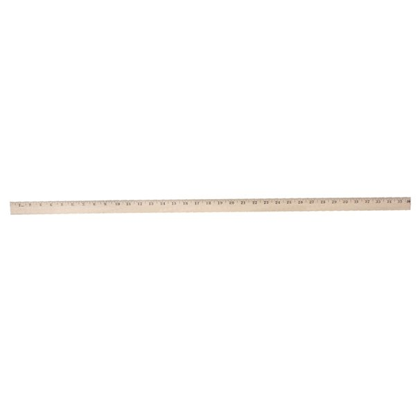 Promotional Heavy - Duty Yardsticks - Clear Lacquer Finish