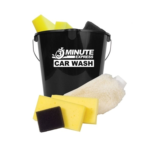 Promotional Wash N Buff Car Wash Kit