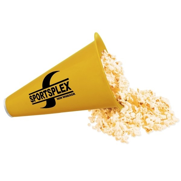 Promotional Megaphone with Popcorn Cap