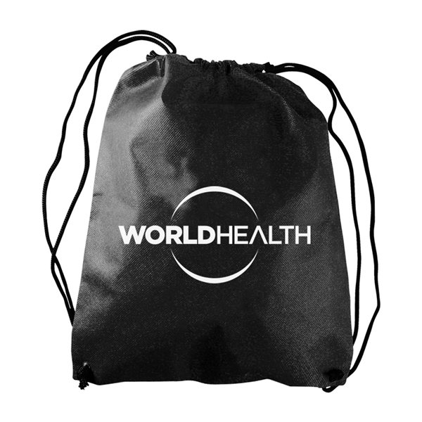 Promotional The Recruit - Non - woven Drawstring Backpack