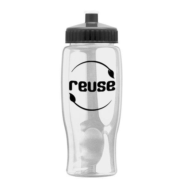 Promotional Refresh Clutch Water Bottle - 27 oz