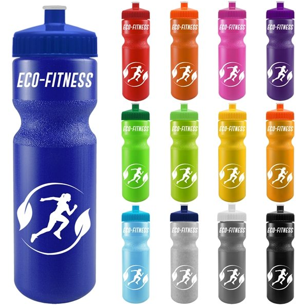 Promotional 28 oz The Journey Color Bike Bottle