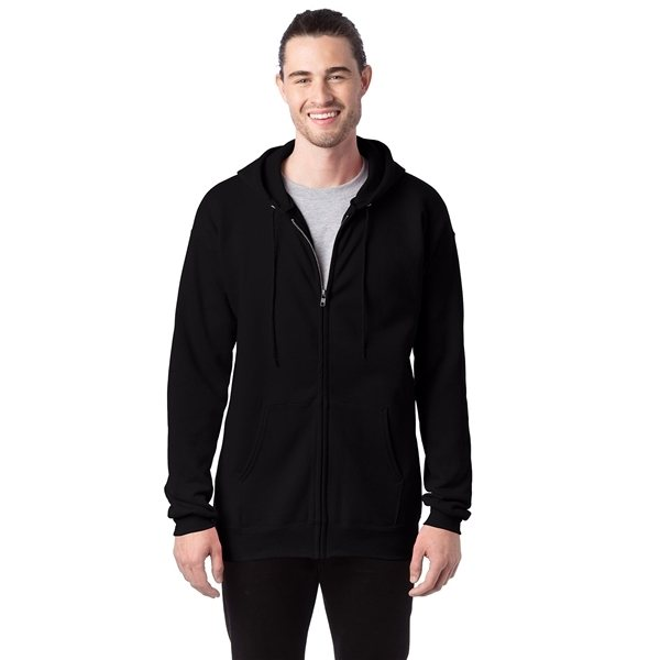 Promotional Hanes 9.7 oz Ultimate Cotton(R) 90/10 Full - Zip Hood