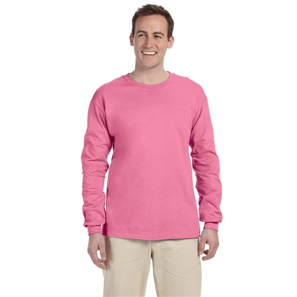 Promotional Fruit of the Loom(R) 5 oz HD Cotton(TM) Long - Sleeve T - Shirt - Colors