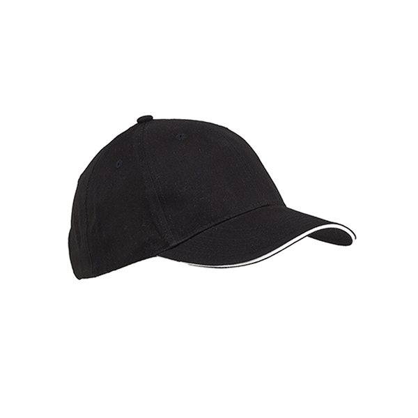 Promotional Big Accessories 6- Panel Twill Sandwich Baseball Cap