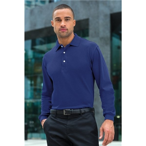Promotional Port Authority Rapid Dry Long Sleeve Polo
