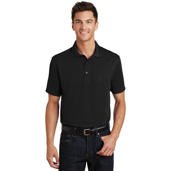 Promotional Port Authority Poly - Bamboo Blend Pique Polo - Colors