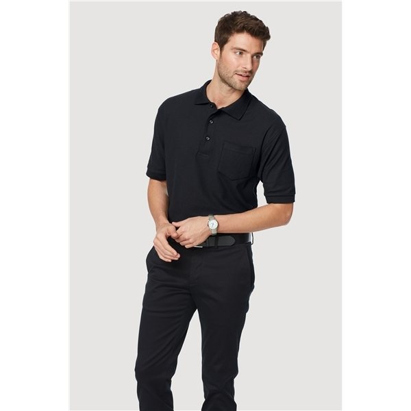 Promotional Port Authority Silk Touch Polo with Pocket