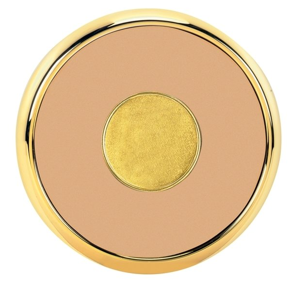 Promotional Round Brass Coaster Weight Coasters