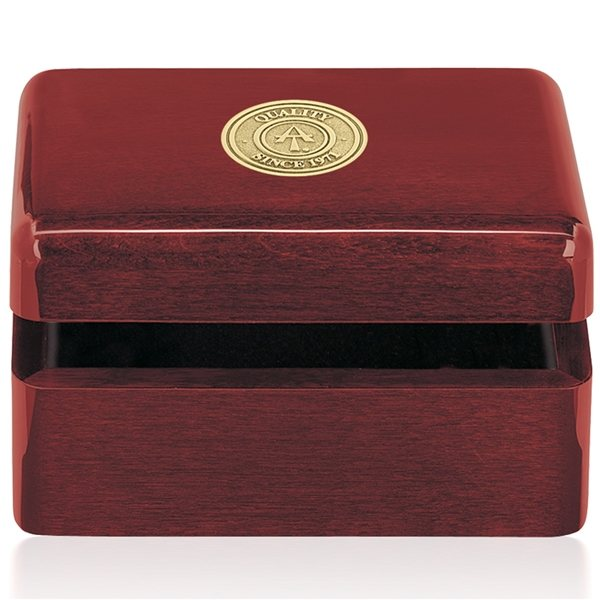 Promotional Rosewood Rectangular Box